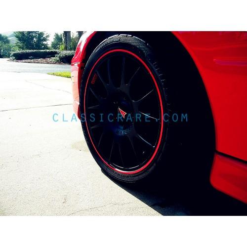 x4 //// Red BBS Wheel Lip Decal