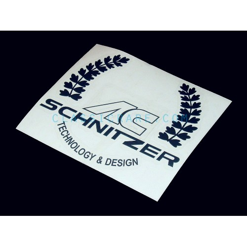 AC Schnitzer 4inch Round Decal (Style#1) X 2 Pcs