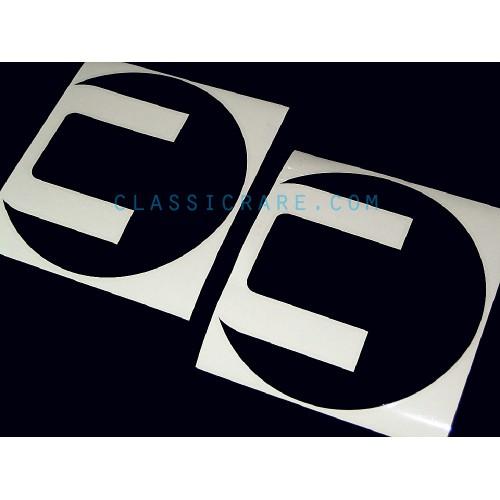 2x COBB sticker vinyl decal
