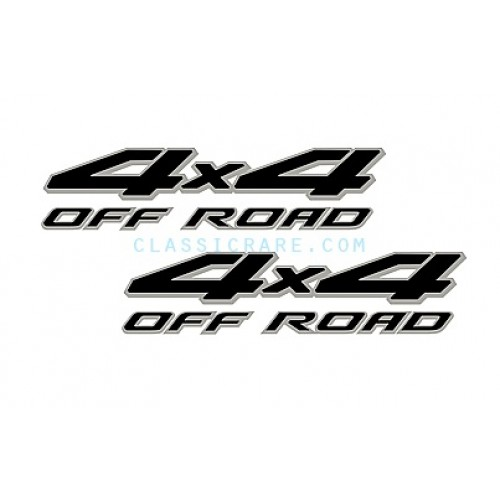 nissan frontier 4x4 off road 15inch decal x 2 pcs