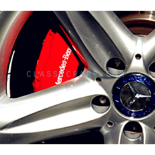 mercedes benz 4inch brake caliper decal x 2 pcs