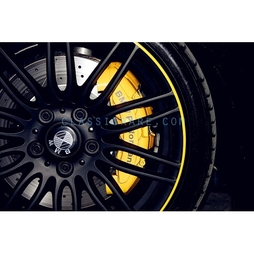Performance Inch Brake Caliper Decal X Pcs - Bmw m brake caliper decals