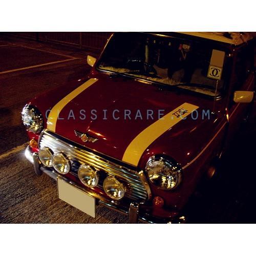 Classic Mini Cooper Bonnet Stripes Style1 X 1 Pair Lhs Rhs