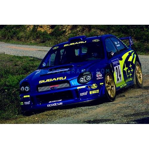 Subaru Wrc 01 Style Windshield Decal Style1