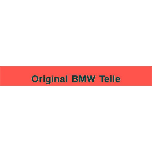 original bmw teile windshield decal style 1. Black Bedroom Furniture Sets. Home Design Ideas