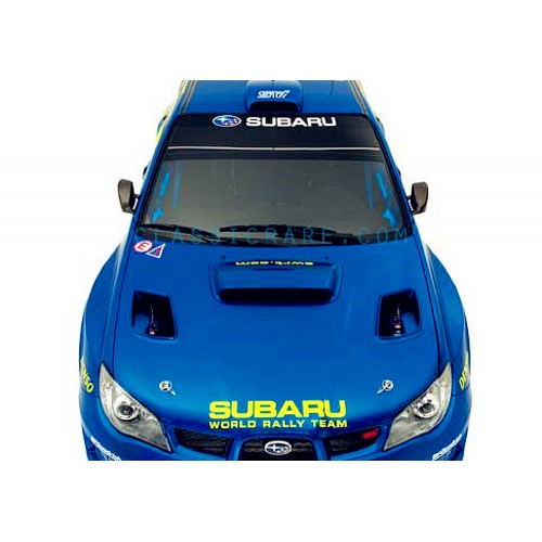 Car Front Back Windshield Window Banner Decal Sticker by Subaru World Rally Team