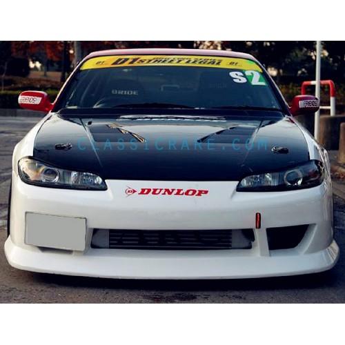 """53/"""" Dunlop Windshield decal sticker banner sun strip visor windscreen JDM USDM"""