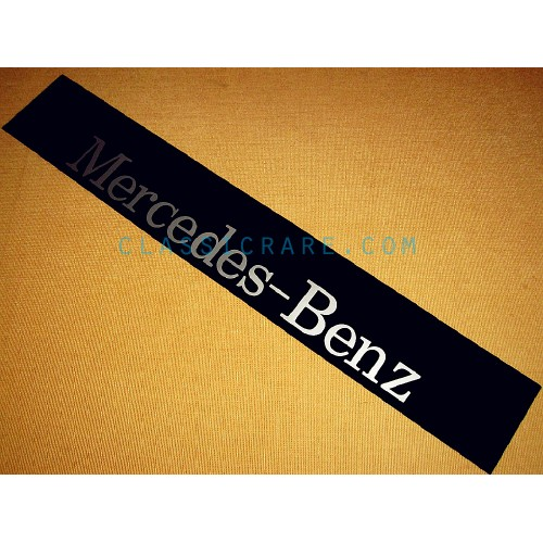 Mercedes benz windshield decal style 2 for A mercedes benz product sticker