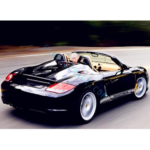 Porsche Classic Side Door Decal (Style#5) x 1 pair (LHS & RHS)