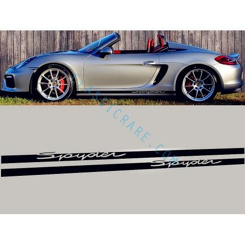 Porsche Boxster Spyder Side Door Decal x 1 pair (LHS & RHS)
